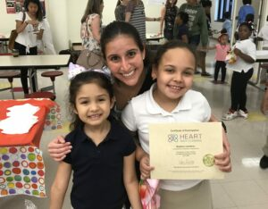 Students with their Heart Tutor